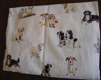 Chipped Dogs Back Warmer Corn Cozie