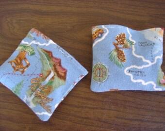 Timberline Blue Flannel Hand Warmer Corn Cozie