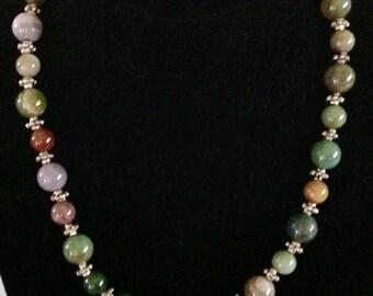 Vintage Tourmaline Gemstone Necklace