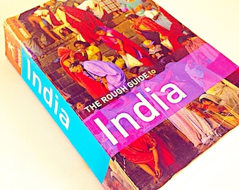 India travel guide- travel in India- Asian trip- colorful book- guiding you through India- Sweetlakevintage- vintage book - wanderlust