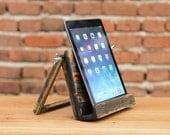 Wooden iPad stand iPad Holder Holz iPad Ständer iPad Halter Tablet stand