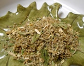 GREEN FAIRY Artisan Tea Blend - Earthy, Spicy, with Dreamy Wormwood and a hint of Black Licorice - One Ounce - yields 15-25 Cups