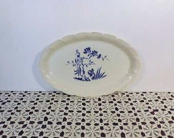 Digoin Sarreguemines France, Paradis serving platter