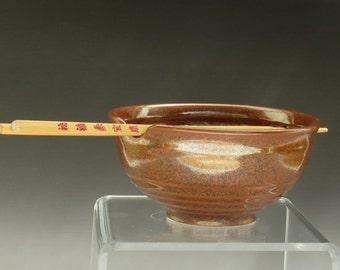 Handmade Ceramic Bowl, Pottery Bowl, Porcelain Chopstick  Bowl, Noodle Bowl, Rice Bowl