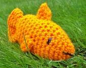 Goldfish Crocheted Stuffed Animal Baby Child's Toy