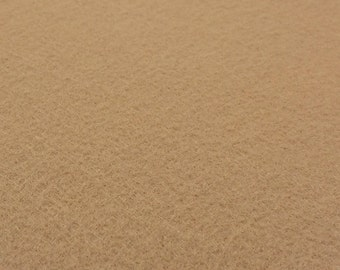 Cashmere Brown Tan Felt Sheets - 6 pcs - Rainbow Classic Eco Fi Craft Felt Supplies