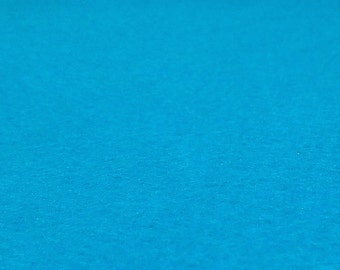 Neon Blue Felt Sheets - 6 pcs - Rainbow Classic Eco Fi Craft Felt Supplies