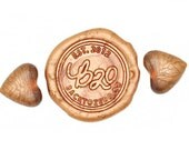Copper Gold Heart Shape Sealing Wax Beads for Wax Seal Stamp