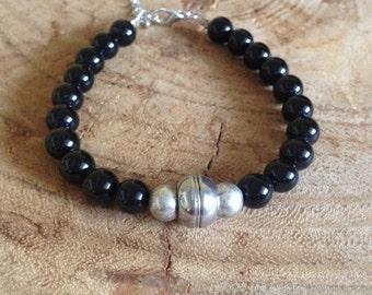 Men - Onyx gemstone bracelet