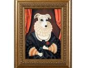Funny Pet Gift, Pet Gag Gift,Dog Magnet, Queen Whippet, Dog Gag Gift