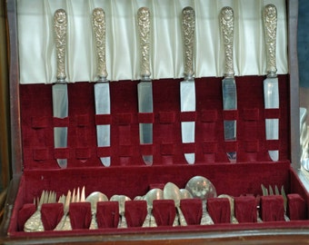 Kirk Repousse Sterling 67 Pieces
