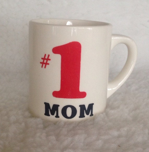 Number One Soccer Mom with Classic Soccer Ball Large ... |Number One Cup Mom