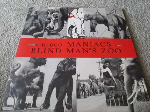 David Jones Personal Collection Record Album - 10,000 Maniacs - Blind Man's Zoo
