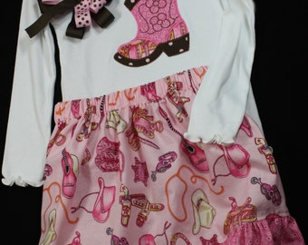 Cowgirl Boot Toddler 3pc Set