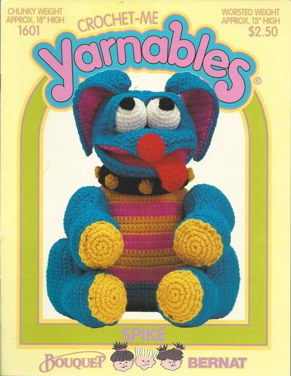 Free Crochet Pattern Leaflets : Vintage Crochet Pattern Leaflet Crochet-Me YARNABLES ANIMAL