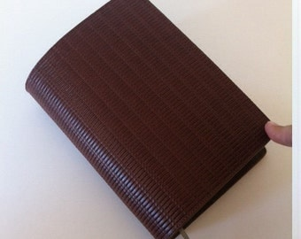 Cognac 100% Leather Revised New World Translation Bible Cover