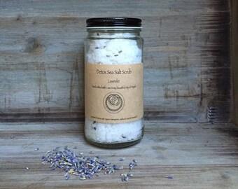 Lavender Detox Sea Salt Scrub 12oz