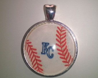 KC Baseball Necklace