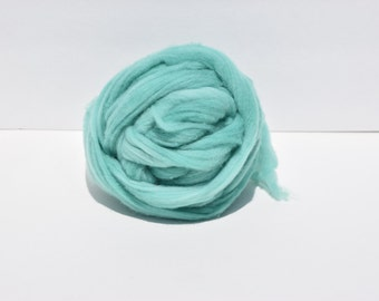 Teal Blue Cormo Top