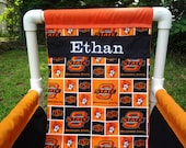 OKLAHOMA STATE UNIV. Children's Chair Personalized with a Name Free. Great for indoors or outdoors!