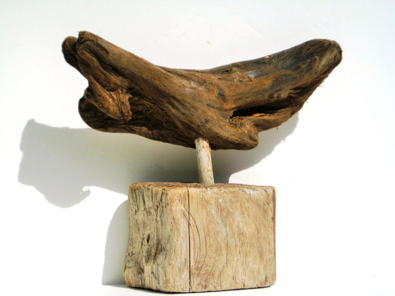 piece of driftwoodwhale sculpturedrift wood artwood. Black Bedroom Furniture Sets. Home Design Ideas