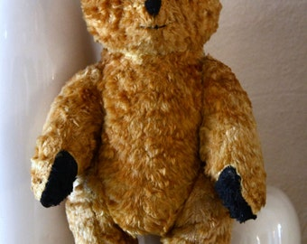 Sooty Type Vintage Teddy Bear