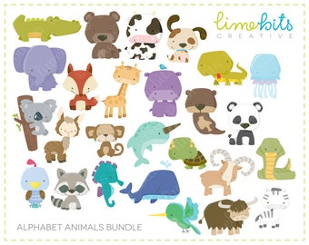 BUNDLE Alphabet Animals
