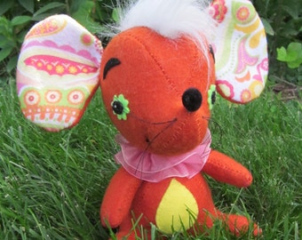Felt Mouse:  Candy the Circus Mouse