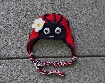 Lovely Lady Bug Hat