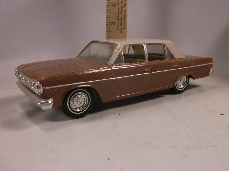 1965 rambler classic toy car promo paintedrubber by retroricks. Black Bedroom Furniture Sets. Home Design Ideas