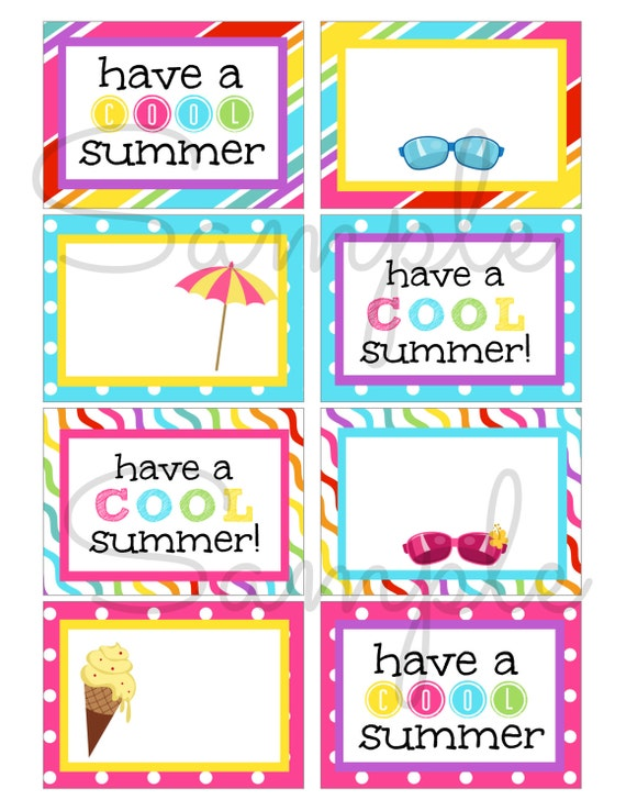 Influential image with regard to have a cool summer printable