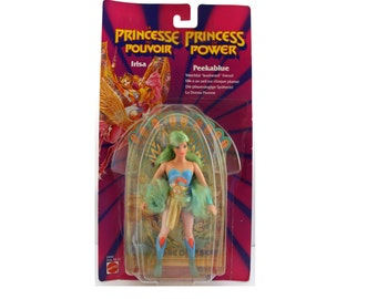 Vintage 1986 Mattel MOC Peekablue Doll / Action Figure. Princess Of Power POP She Ra Doll Action Figure