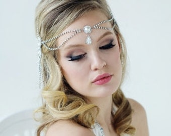 Luxury Head piece jewellery, bridal couture collection,hair jewels, headpiece, tiara, wedding, hair accessories