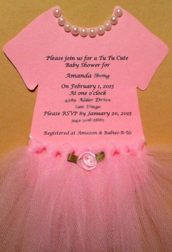 Baby Onesie Invitation is amazing invitations template
