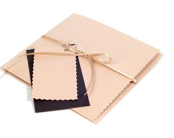 CD/DVD Sleeves Light Brown
