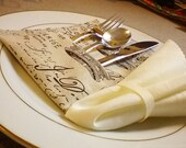 French Silverware Holder -Tableware Setting-Dinnerware