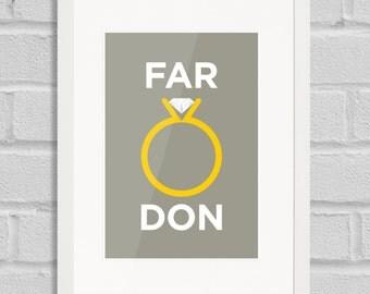 Farringdon - Giclée Art Print