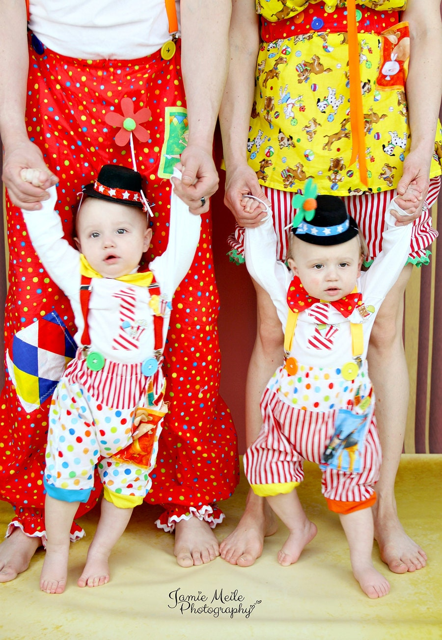 Boys Circus Costume Boys Clown Outfit Boy by MYSWEETCHICKAPEA