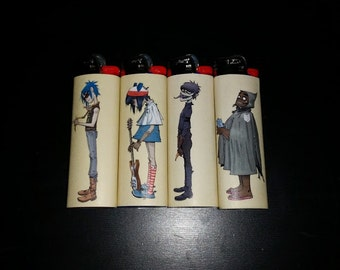 Gorillaz Lighters
