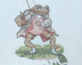 cross stitch beatrix potter mr jeremy fisher little jack sharp CHART INSTRUCTIONS ONLY lakeland artist new