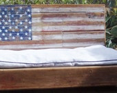 Dog Platform Bed made from Salvaged Wood