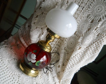 Double globe lamp