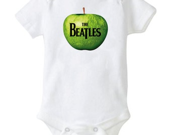 The Beatles Music Cool Baby Shower Gift Cute Funny British Baby Awesome Baby Gift Boy Girl Neutral John Paul Ringo George Beatles UK