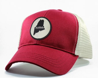 Homeland Tees Maine Home State Trucker Hat