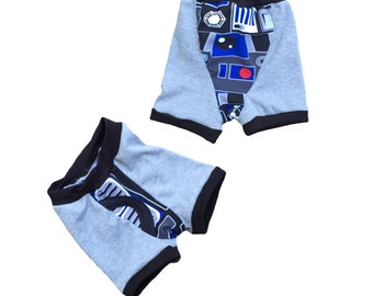 R2D2 Boxer Briefs one pair in the new fabric please see pictures