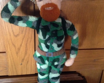 Needle Felted Soldier