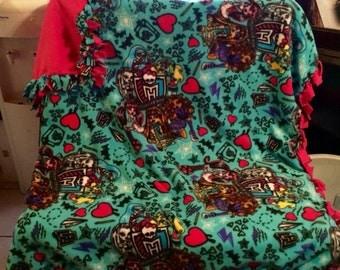 Monster High blanket