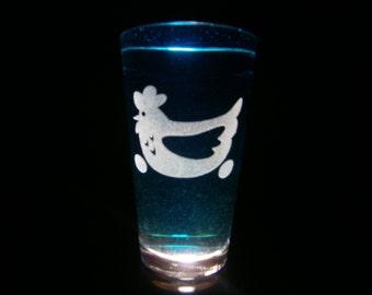 Ms. Peachbottom Cutie Mark - Pint Glass