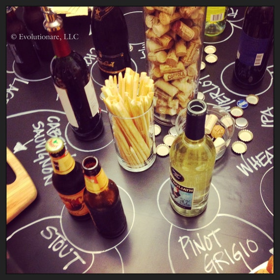 Corks & Caps: an interactive beer, wine and cheese pairing party great for a group, fitting for all levels of experience!