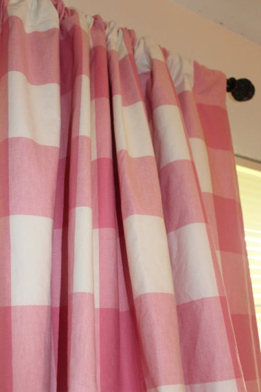 Yellow And Gray Curtains Target Oversize Buffalo Check Curtains